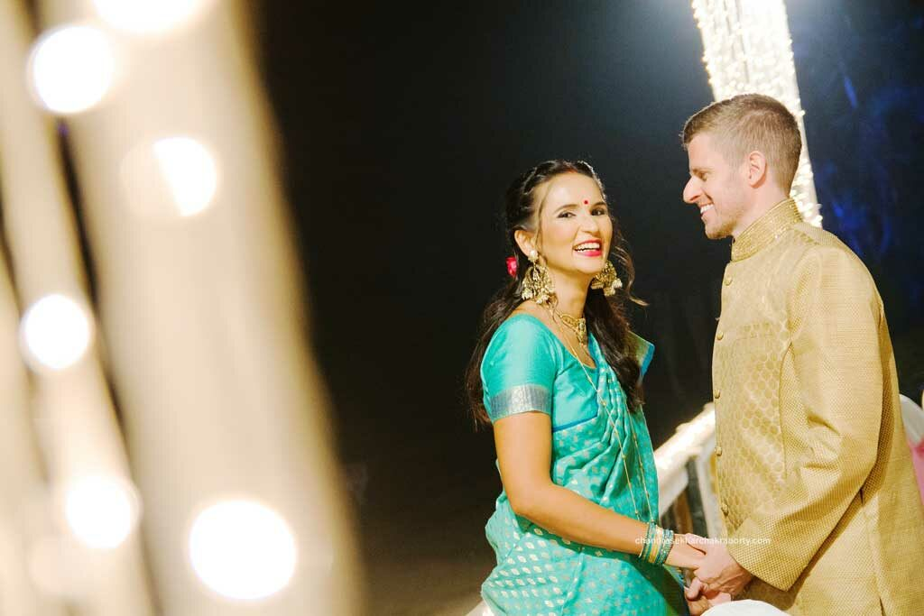 Candid wedding Photography of bride & groom