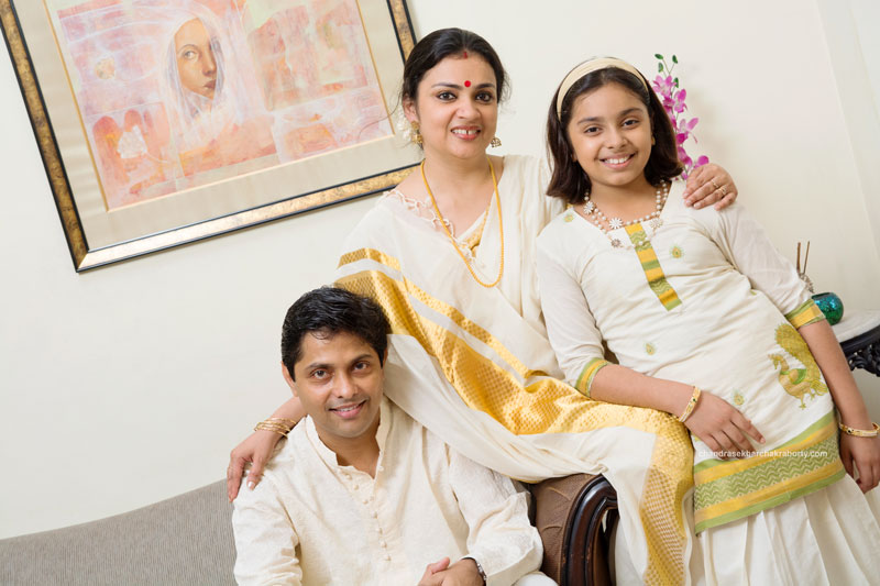 South Indian's family portrait