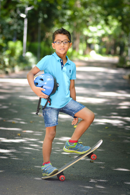 acting photoshoot for Kid